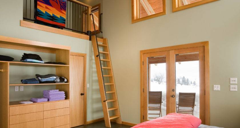 Tremendous Loft Ladder Decorating Ideas
