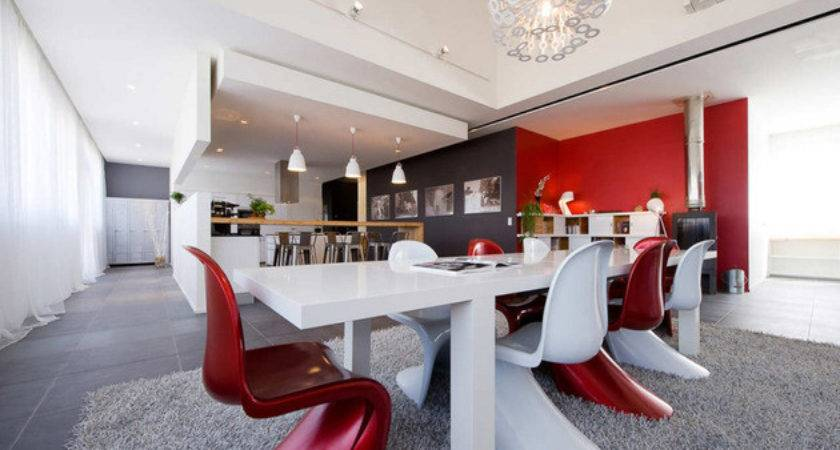 Trendy French Loft Open Interiors Colorful