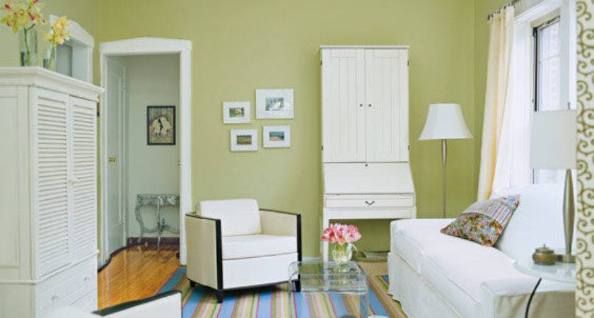 Trick Small Space Into Feeling Bigger Living Room