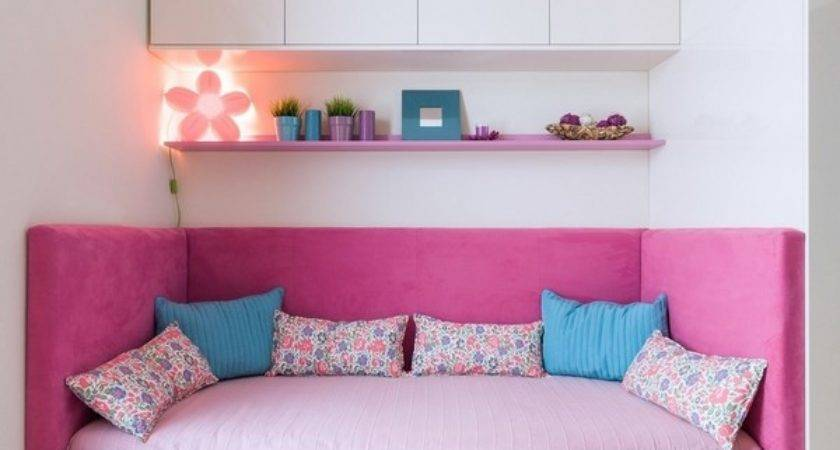 Trundle Bed Kids Room Excellent Space Saving Idea