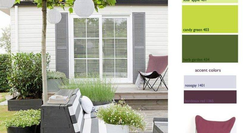 Try Unexpected Accent Color Your Patio Keep