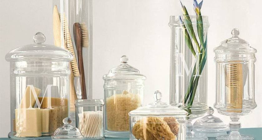 Tuesday Tips Apothecary Jars Chic Storage Kitch