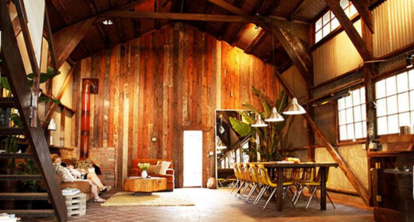 Turn Your Old Barn Into Home Handsome Homesteader