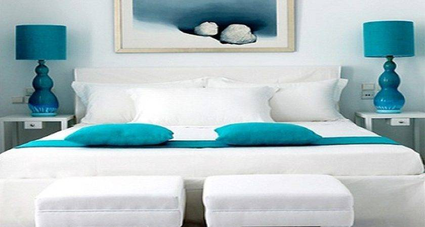 Turquoise Black White Bedroom Ideas Modern Home Design