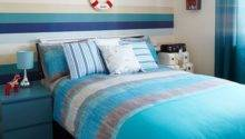 Turquoise Cream Bedroom Room Interiors