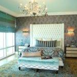 Turquoise Cream Grey Bedroom Design Ideas Renovations