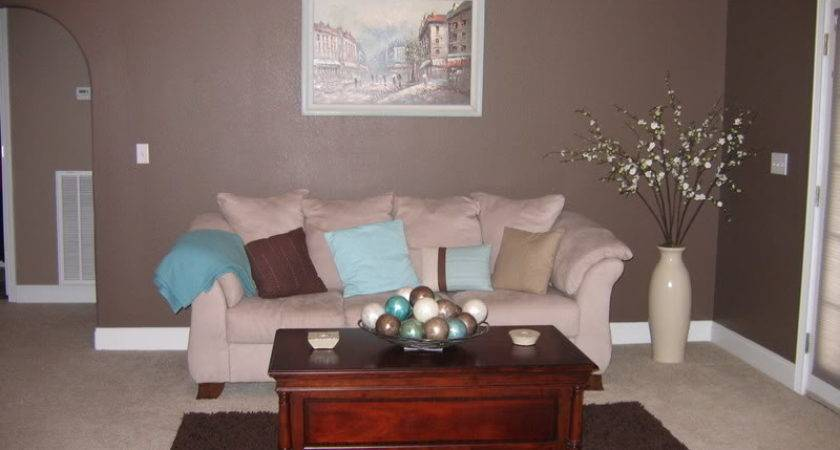 Turquoise Dark Brown Living Room Lvkelj Decorating Clear