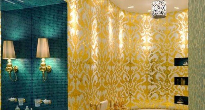 Turquoise Gold Home Design Ideas Remodel