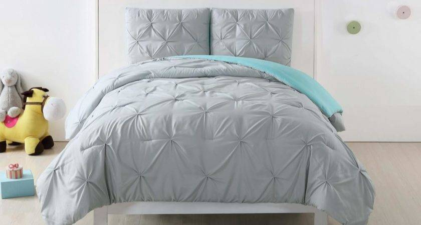 Turquoise Gray Bedding Sets