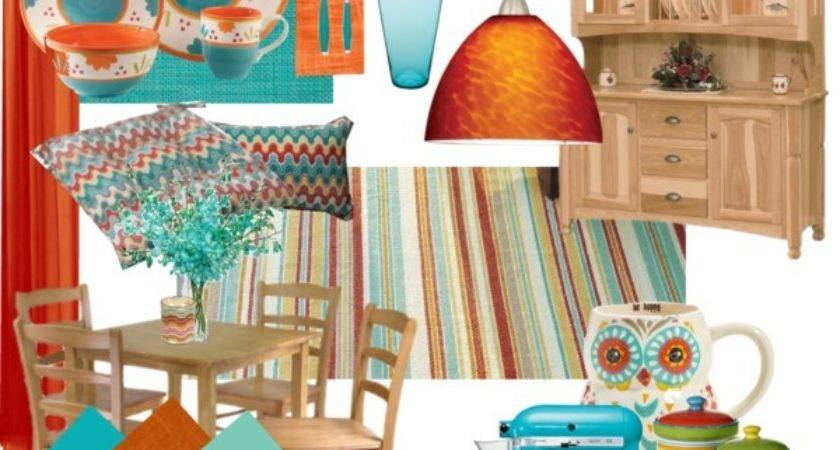 17 Beautiful Decorating With Turquoise And Orange Homes Decor