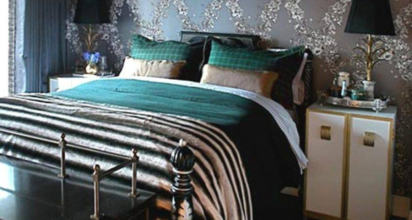 Turquoise White Bedroom Black