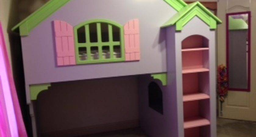 Twin Loft Bed Tradewins Olivia Dollhouse Austin