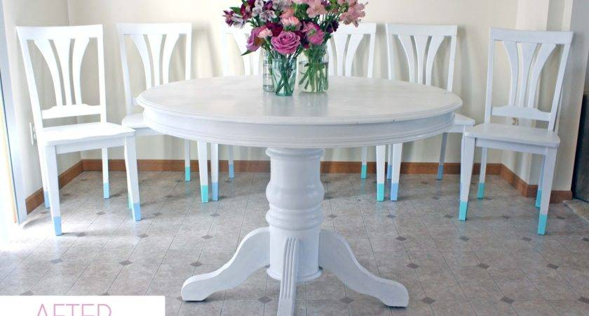 Two Color Chalk Paint Furniture Newhairstylesformen
