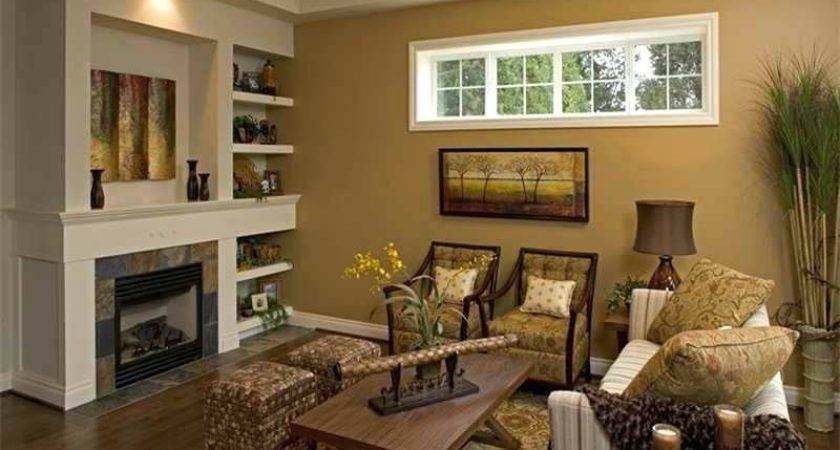 Two Tone Brown Bedroom Paint Ideas Room
