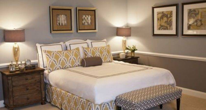 Two Toned Bedroom Ideas Remodel Decor