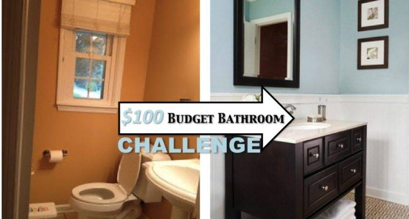 Two Yourself Small Bathroom Makeover Budget