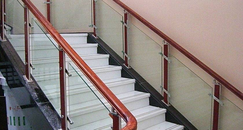 Types Glass Stair Railing Invisibleinkradio Home Decor