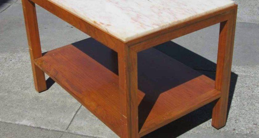 Uhuru Furniture Collectibles Sold Marble Top End Table