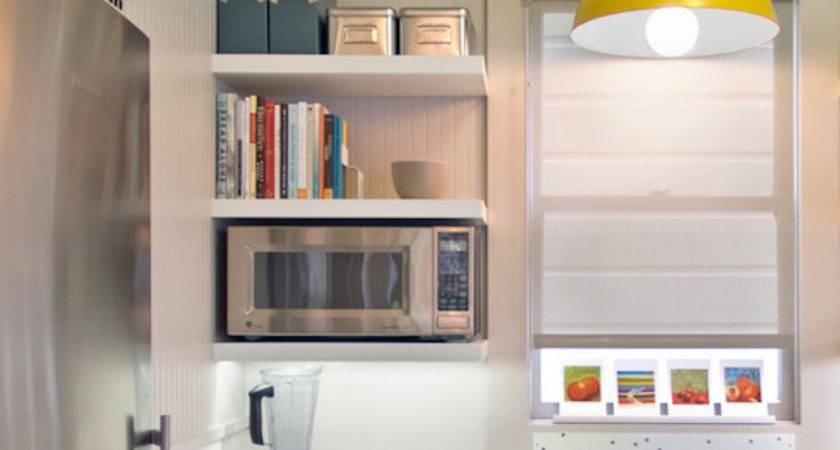 Unique Kitchen Ideas Storing Cookbooks