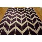 Unique Loom Chevron Purple Area Rug Reviews Wayfair