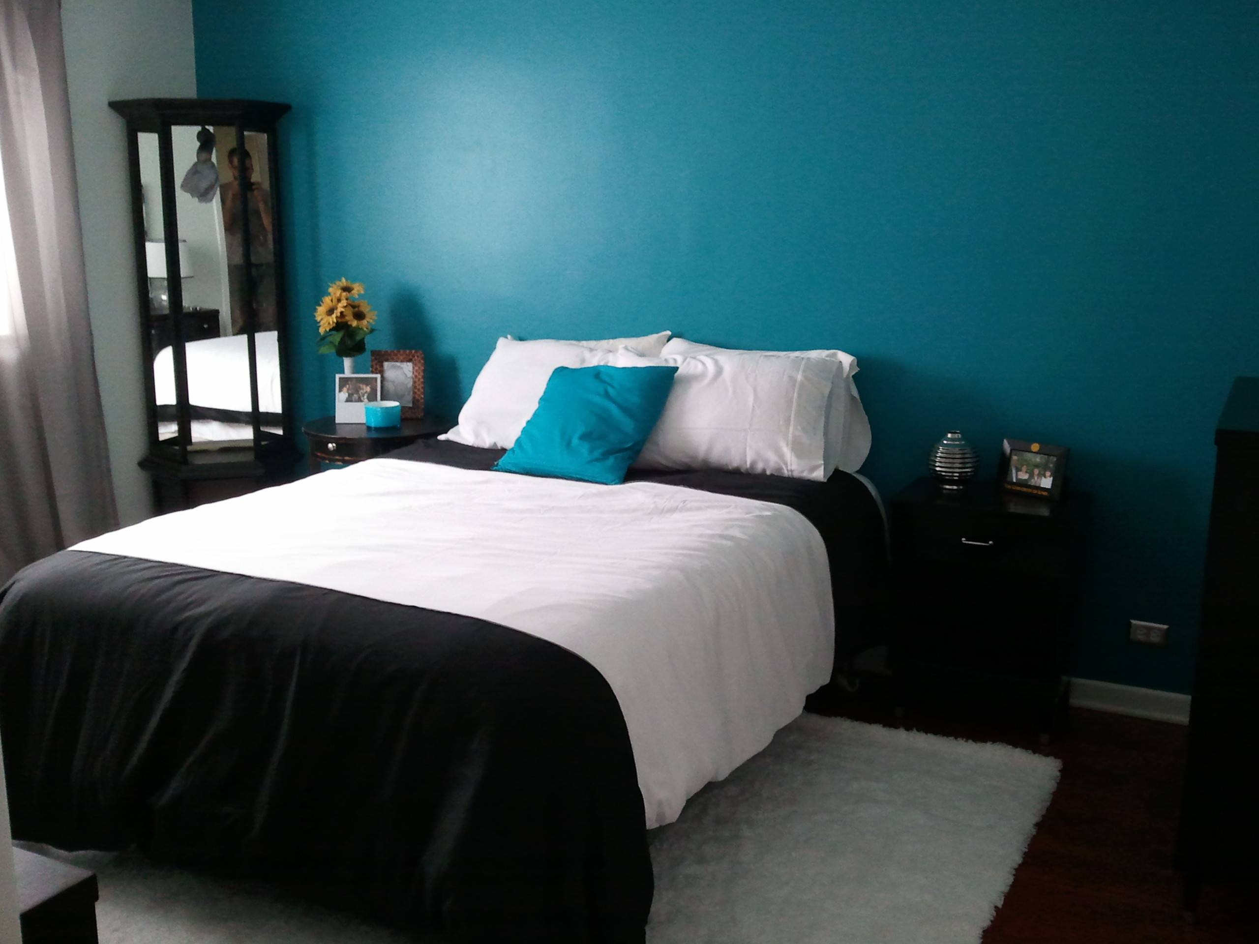 Image of: These Year Black White And Turquoise Bedrooms Ideas Are Exploding 24 Pictures Homes Decor
