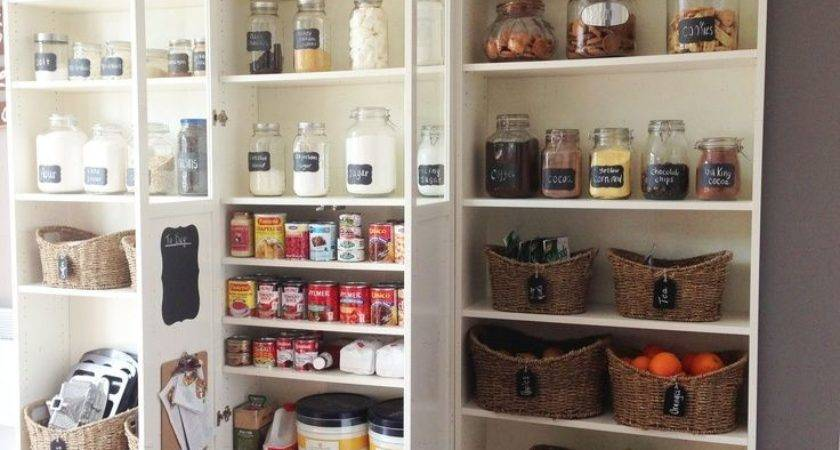 Using Bookcases Kitchens Diy Pantry Ikea Billy