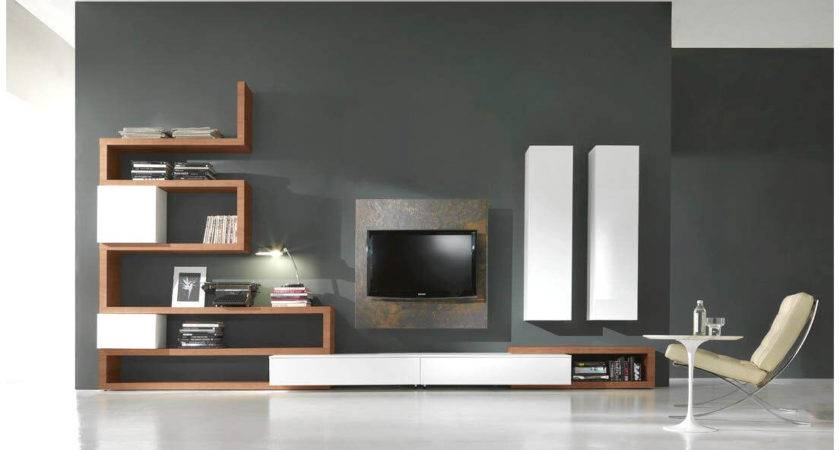 Various Cool Modern Unit Design Hall Living Room