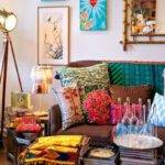 Very Colorful Living Room Awesome