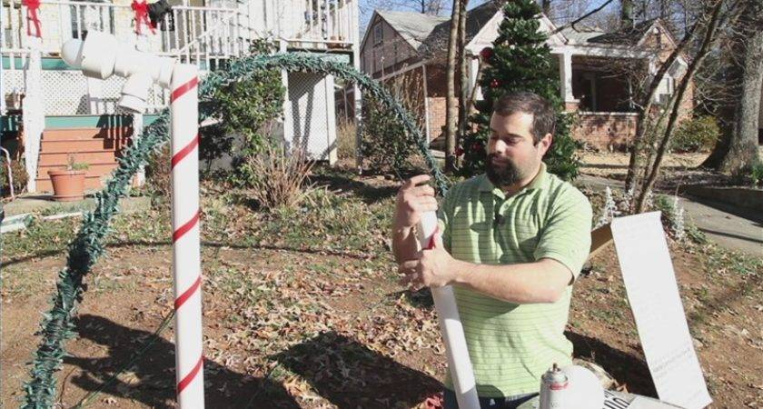 Video Make Christmas Light Yard Decorations Ehow
