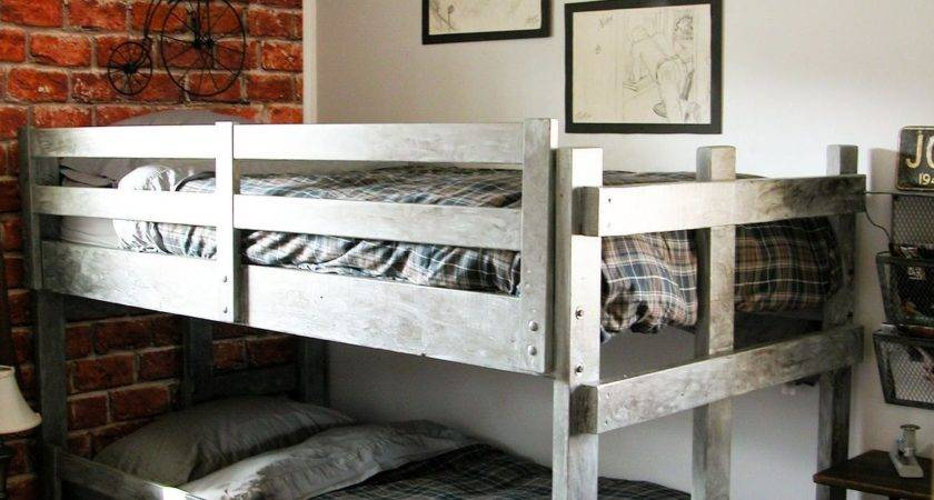 Vintage Industrial Teen Bedroom Makeover Hometalk