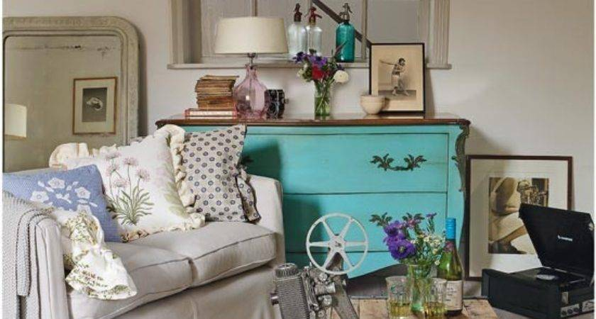 Vintage Style Country Living Room Ideas