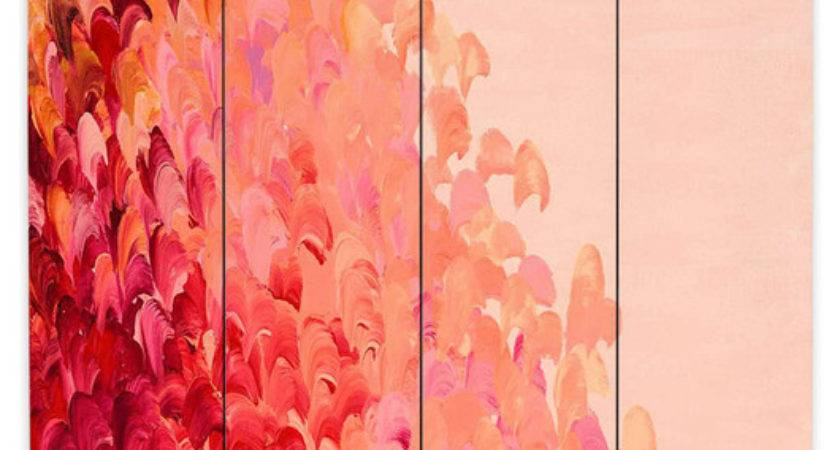 Wall Decor Beautiful Coral Color Colors