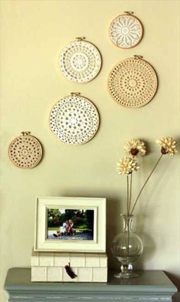 Wall Decor Ideas Using Recycled Materials Diy Homes Decor
