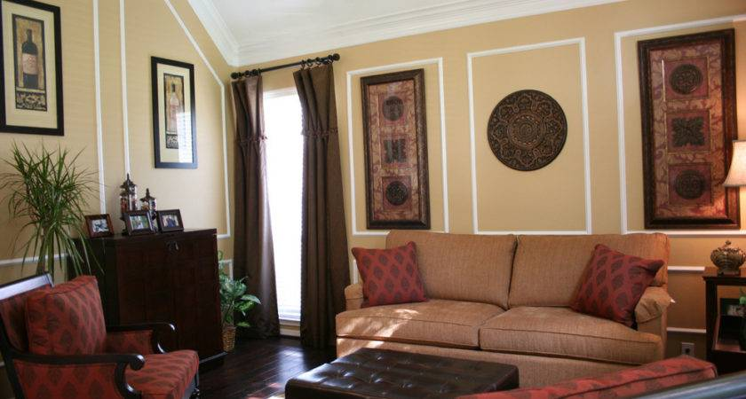 Wall Molding Designs Living Room Eclectic Artwork