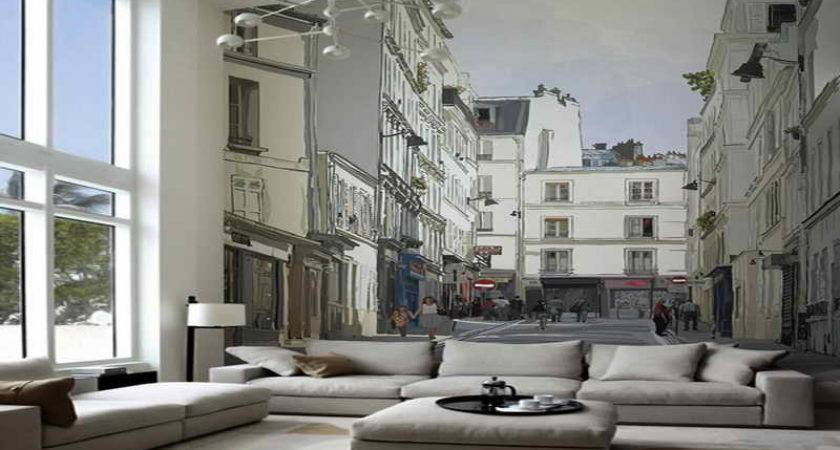 Wall Mural Living Room
