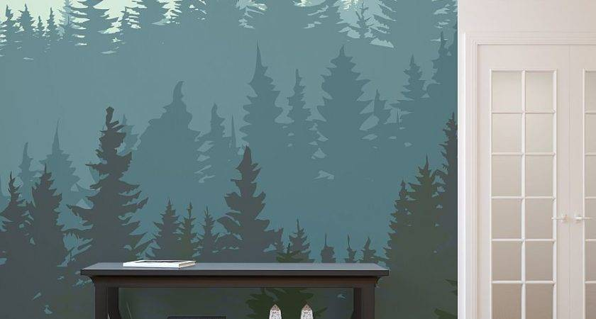 Wall Murals Ideas Several Revealed Themes Winter