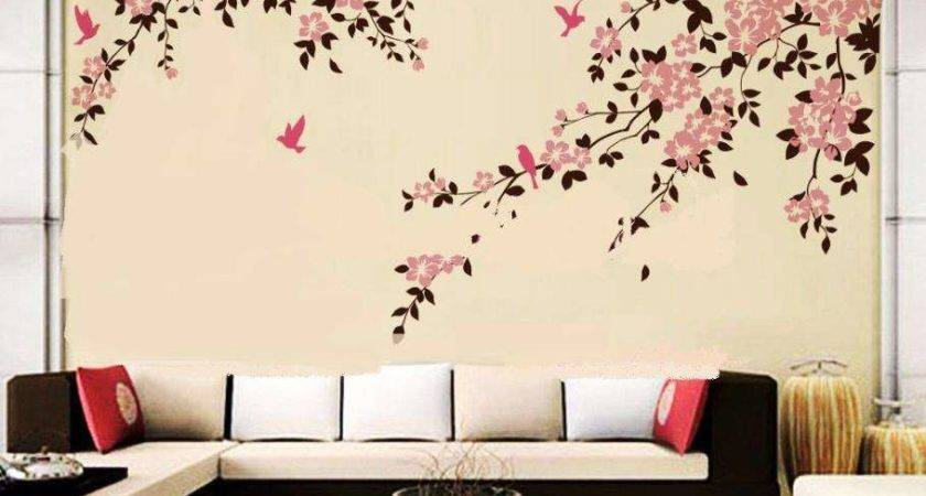 Wall Painting Designs Bedroom Decoration Ideas