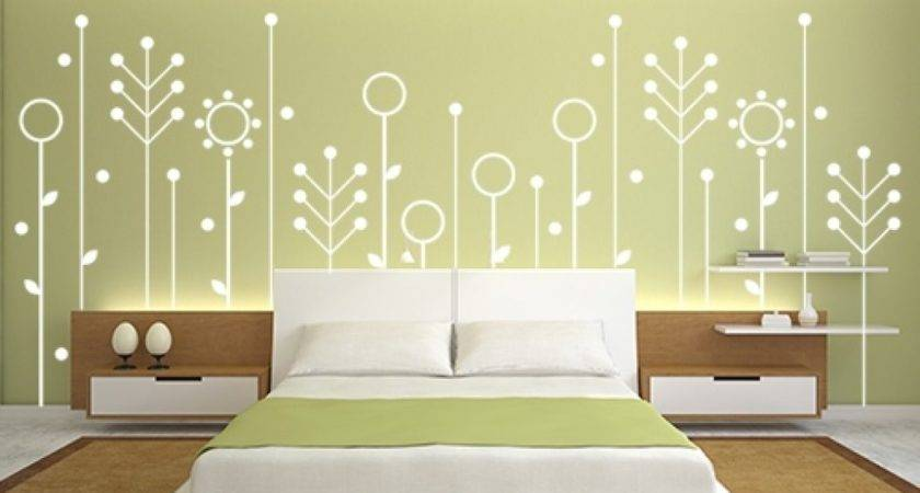 Wall Painting Designs Bedrooms Bedroom Paint