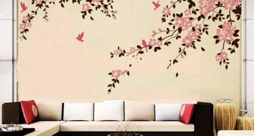 Wall Painting Designs Bedrooms Ideas
