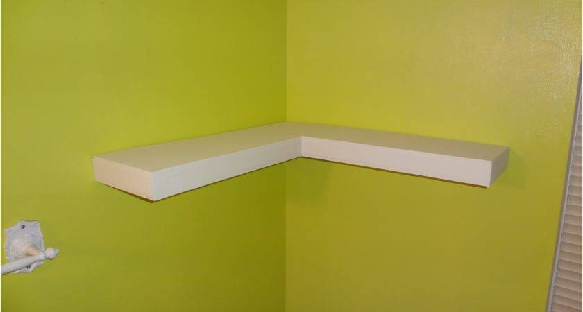 Wall Shelf Components Finest Before After Shelves