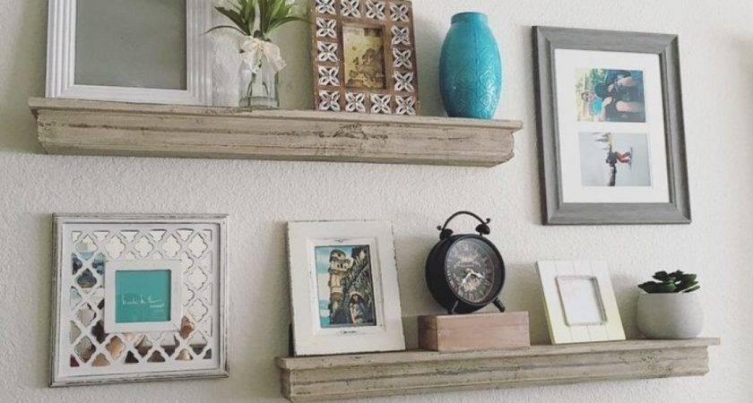 Wall Shelves Staggered