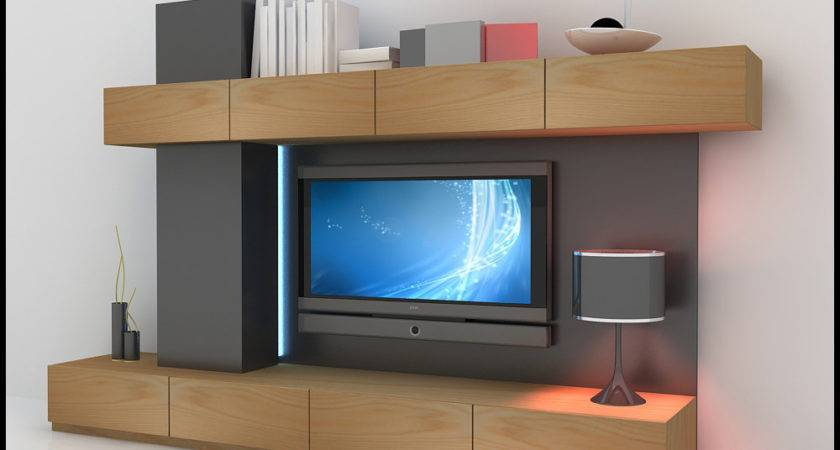 Wall Unit Modern Design Models Cgtrader