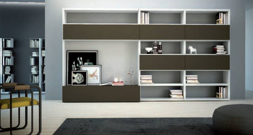 Wall Units Stunning Contemporary Living