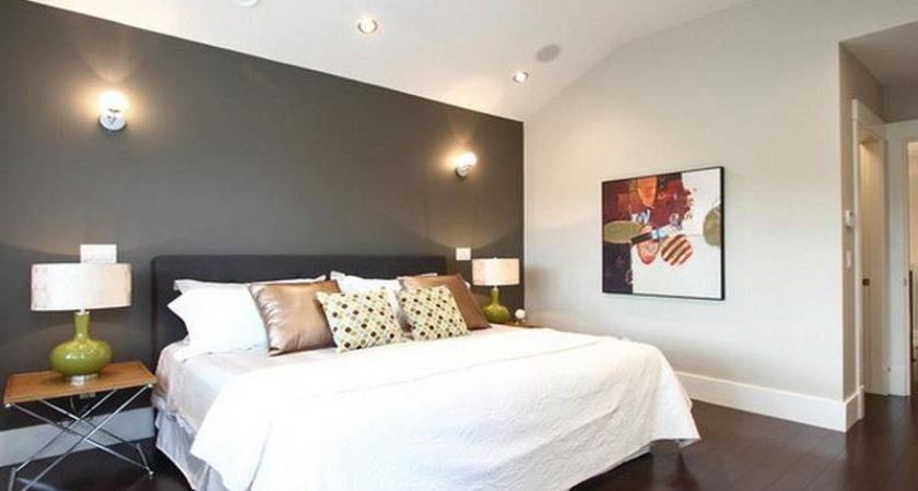 Walls Contemporary Accent Wall Colors Bedroom