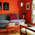 Walls Painting Paint Ideas Orange Wall Decoration
