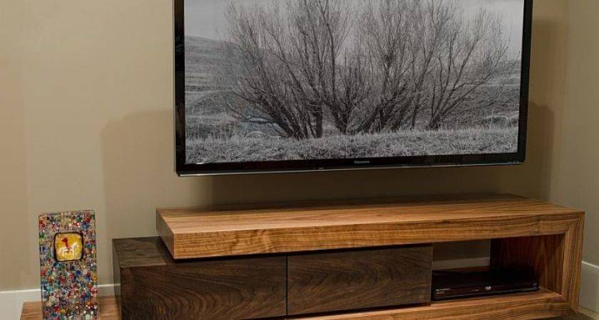 Walnut Stand Custom Furniture Cabinetry Boise