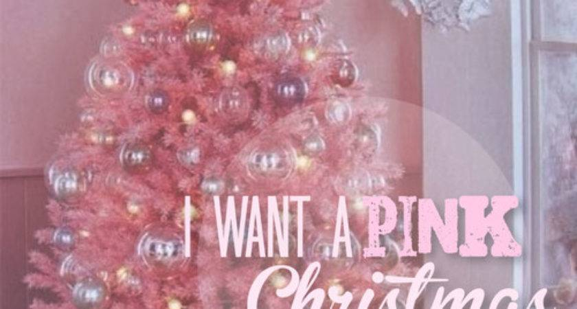 Want Pink Christmas Photos