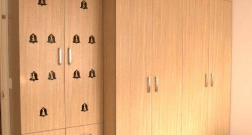 Wardrobe Inbuilt Prayer Room Apartment Villa
