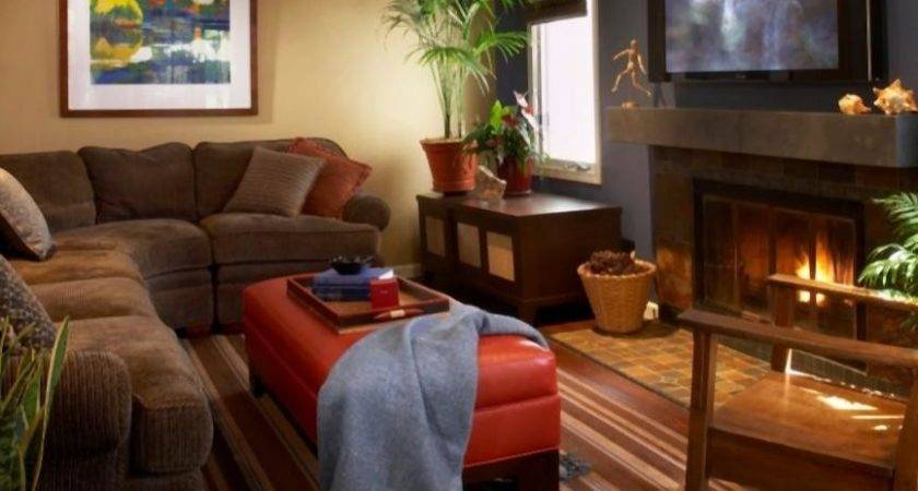 Warm Cozy Living Room Photos