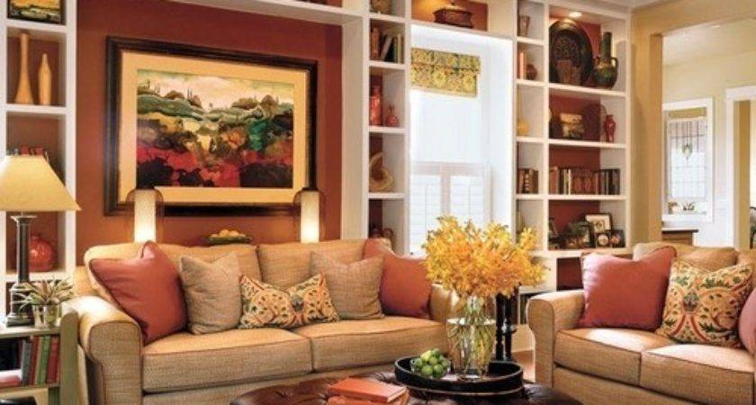 Warm Inviting Love These Colors Room